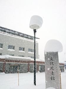恵みの雪・・・!?